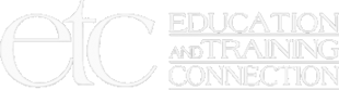 Education and Training Connection Footer Logo